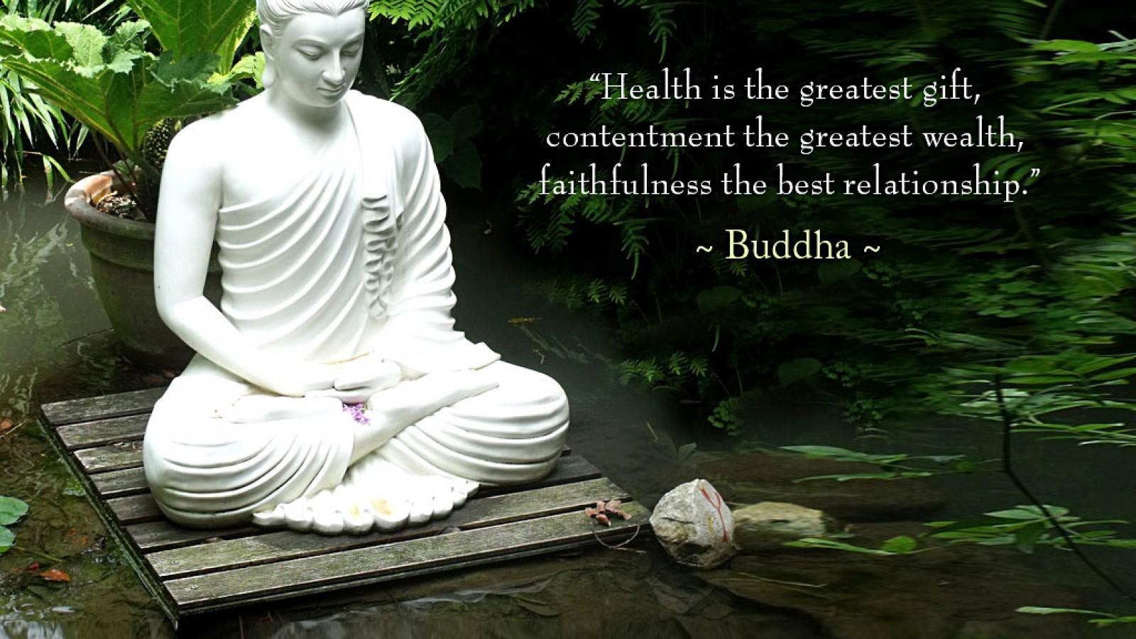 Buddha Quotes On Health