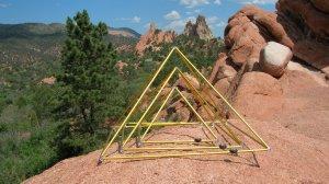 triple pyramids