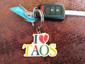 """I Heart/Love Taos"""