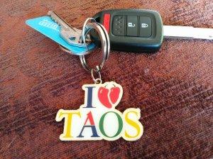 """""""I Heart/Love Taos"""""""